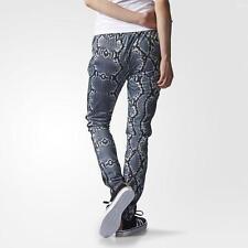 3b23fdaa42988 Adidas Original Womens Supergirl Slim Track Pants Snake (AB2099) - XS