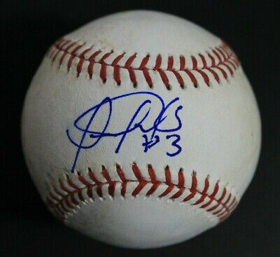 Trustful Luis Sardinas Texas Rangers San Diego Padres Signed Autograph Mlb Baseball Promoting Health And Curing Diseases Autographs-original