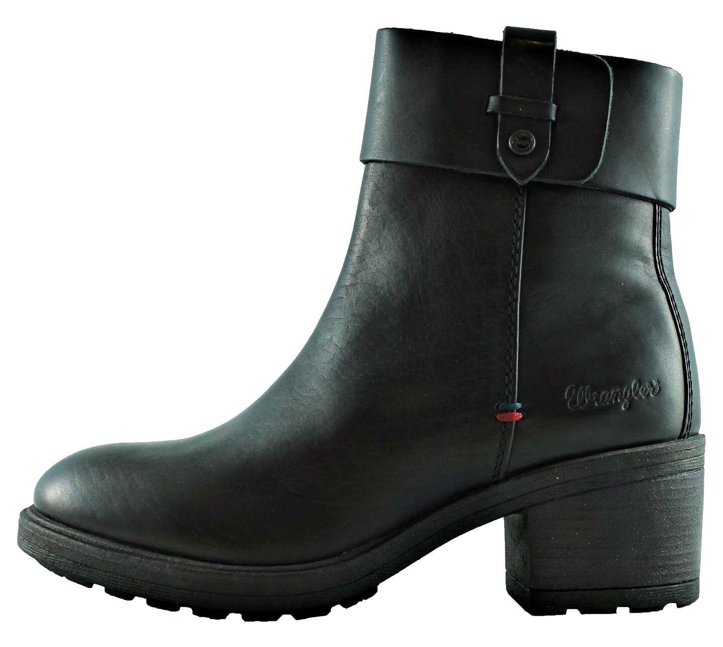 WRANGLER VAIL BOTÍN WL172531 shoes botas botas botas botas de women piel ante 97674f