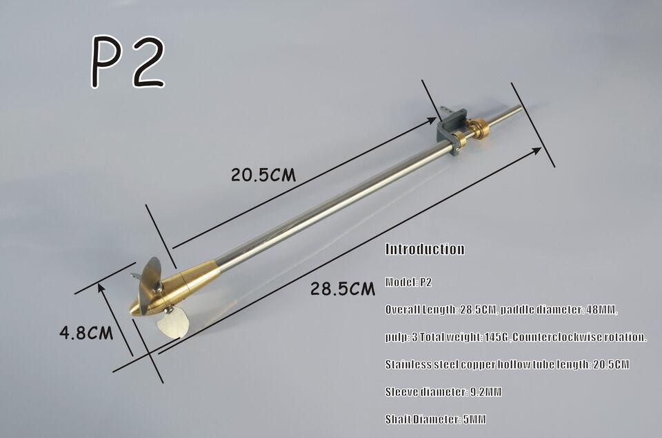 Microcosm P2 Verstellpropeller für DampfStiefel    Angenehmes Aussehen