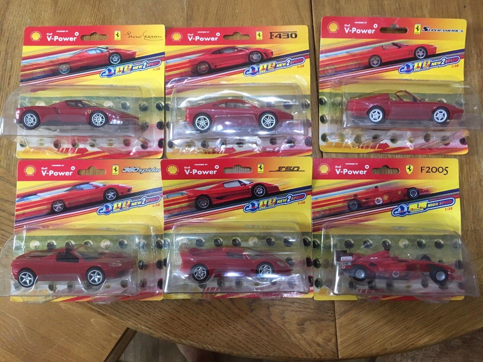 Shell V-Power Ferarri Modelos Colección Completa