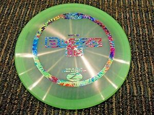 RARE-DISCRAFT-FIRST-RUN-BUZZZ-OS-PEARLY-DISC-GOLF-MID-RANGE-GRN-RBW-176G-LSDISCS