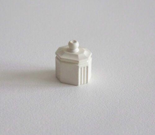 J143 EPOQUE 1900 PLAYMOBIL Pot Sucrier Blanc Salle à Manger 5316 5320