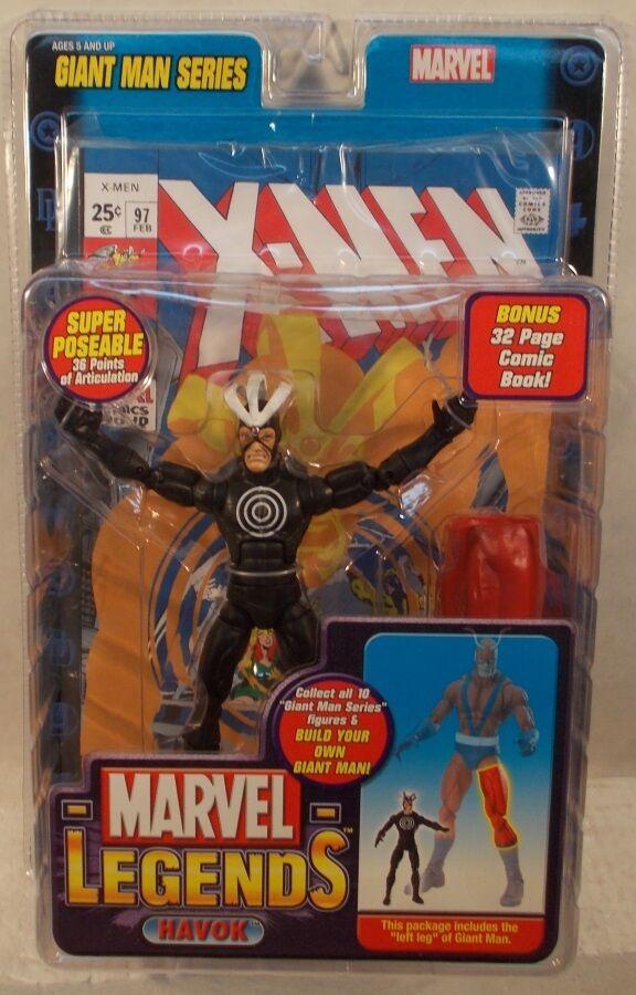 Marvel - legenden riesiger mann build-a-figure baf - serie  x - men  havok (misp)