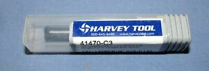 "Harvey Tool Carbide Thread Milling .054/"" x 1-1//2/"" 2FL #41404-C4"
