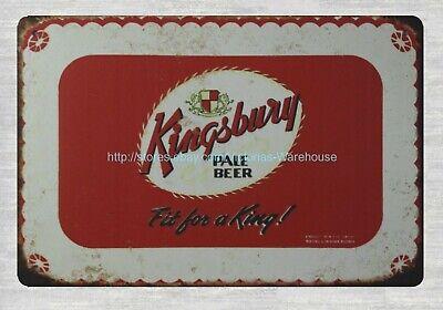 Full Quart Koehler/'s Lager Beer metal tin sign wall hanging