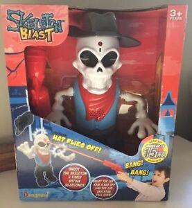 Skeleton-Blast-Infra-Red-Target-Shooting-Toy-Game-W-Sound-And-Walking-Movement