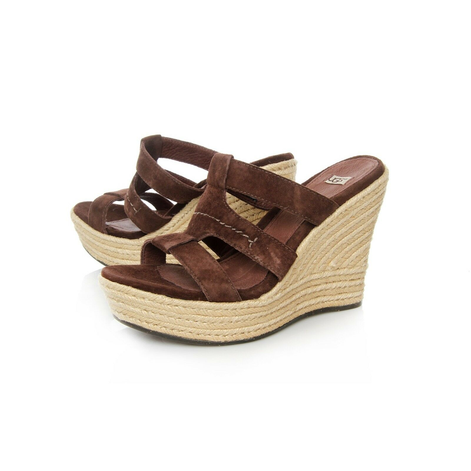 UGG AUSTRALIA TAWNIE SANDALS, WEDGES SHOES- TAILLE US 11- NOUVEAU