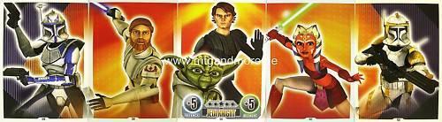 Star Wars Force Attax  Jedi Knight #129-133