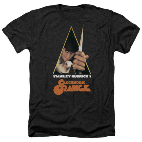 A Clockwork Orange Movie POSTER Licensed Adult Heather T-Shirt All Sizes