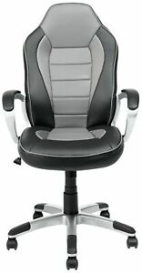 Fabulous Details About Argos Home Racing Style Gaming Chair Black Grey E52 Andrewgaddart Wooden Chair Designs For Living Room Andrewgaddartcom