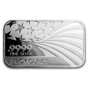 Solid-Silver-AMERICAN-FLAG-Commemorative-1-oz-999-Pure-Solid-Silver-Round