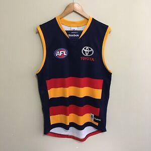Adelaide-Crows-Guernsey-Reebok-2012-AFL-Football-Jumper-13-Mens-Large