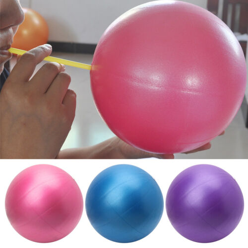 25cm Yoga Ball Physical Fitness Exercise Balance Sport Ball Pilates Birthing