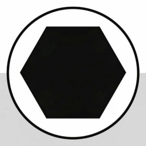 Innensechskant Steckschlüssel 1//2 7mm
