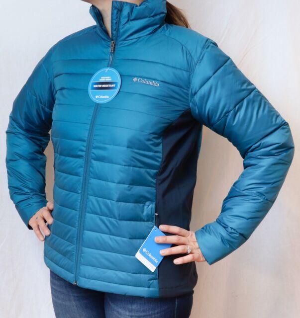 Columbia Women/'s Powder Pillow Hybrid Jacket Deep Plum 1558121-592