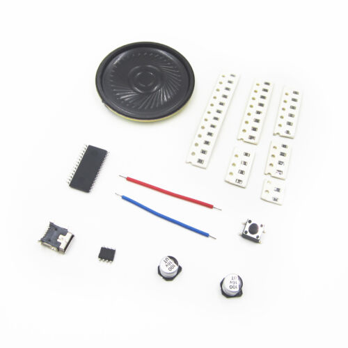 Red LED Precis DIY Kit FFT 8x8 Audio Indicator FFT Voice Frequency Control