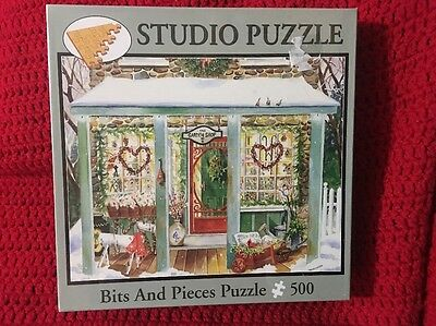"Bits and Pieces Puzzle 500 Studio ""Garden Shop"""