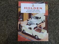 1956 HOLDEN FJ PANEL VAN AND UTE BROCHURE.  100% GUARANTEE.