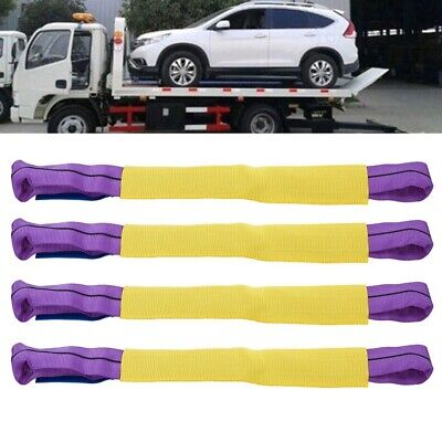 Ratchet Straps Tire Straps 4pcs Recovery Alloy Wheel Securing Link Straps Trailer Transporter