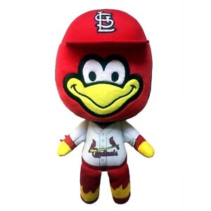 ST-LOUIS-CARDINALS-RED-BIRD-PLUSH-BABY-MASCOT-8-INCHES