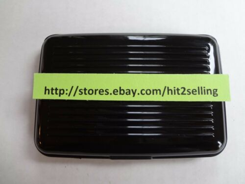 Fast Shipping Business Name Credit Card Case Holder USA Seller New!