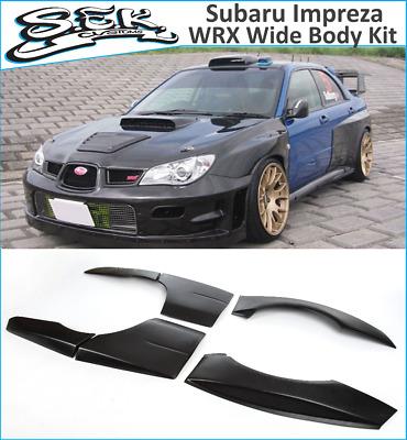 Subaru Impreza WRX STI Style Wide Body Kit 2002 -2008 BugEye BlobEye  HafkEye | eBay