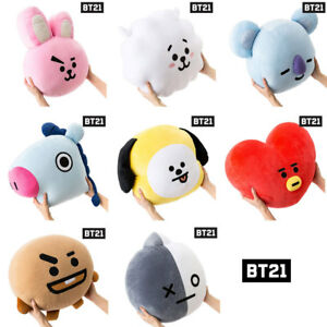 BTS-BT21-Official-Authentic-Goods-16-5inch-42cm-Cushion-Basic-Ver-8-characters