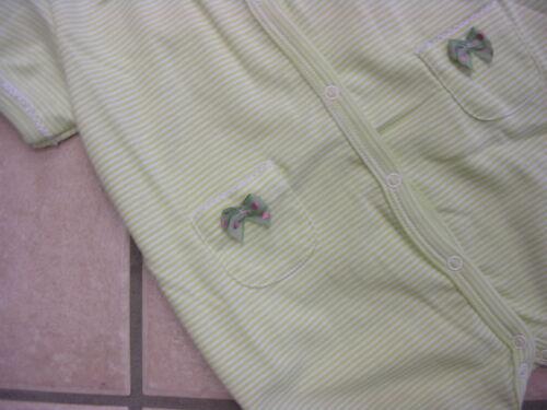 grün o Sommer-Strampler//Overall//Schlafanzug icepink von Petit Bateau NEU!