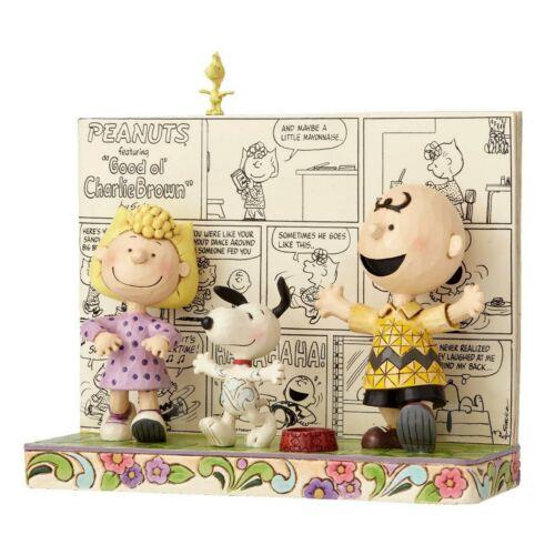 Happy Dance Comic Book Enesco Jim Shore Figur 4054078 The Peanuts Skulptur