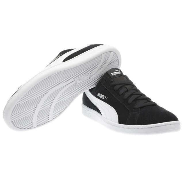 PUMA Soft Foam Original Comfort Men's Size 9 US Suede Smash Shoes Black