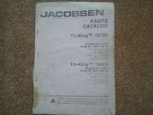 jacobsen triking 1672 parts manual ref27 ebay rh ebay co uk Jacobsen Tractor jacobsen tri king 1672d manual