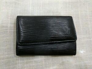 Image Is Loading Louis Vuitton Epi Leather 6 Key Holder Pouch