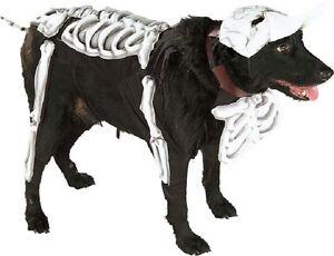 Corpse Bride Skeleton Bones Cute Fancy Dress Up Halloween Pet Dog