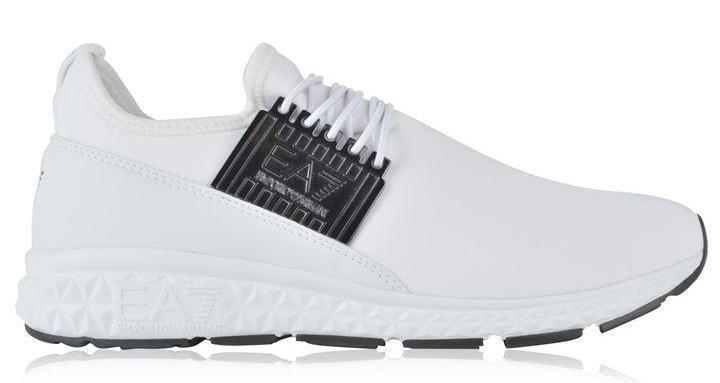 EA7 Light Spirit Slip Sneakers On Trainers Sneakers Slip Wei  Gr  e 41 > UK 7.5 New Ex Display aa2859