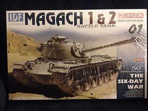 1/35 Israeli IDF Magach 1 & 2 (modernized M48) Mid East Wars Series Dragon #3565