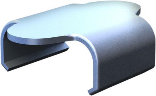 CAMSO TRACK CLIP STD FLAT AFT120107