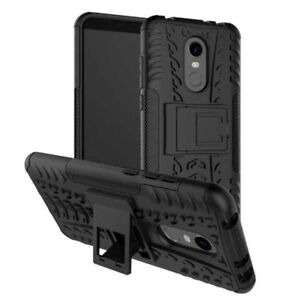 Etui-Hybride-2-pieces-outdoor-coloris-noir-Sac-etui-pour-Xiaomi-Redmi-5