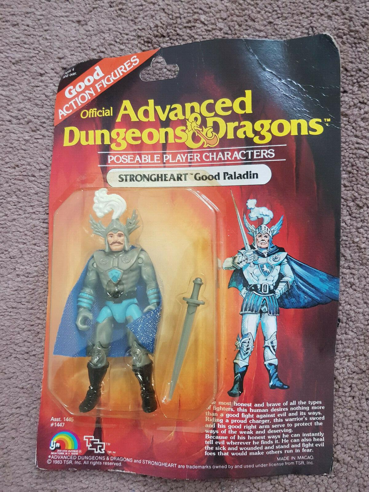 Advanced Dungeons e Dragons  STRONGHEARTazione cifraNUOVA Scheda Su