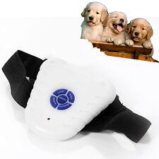 Small Pet Dog 2 Modes Ultrasonic Anti Barking Training Shock Control Collar New