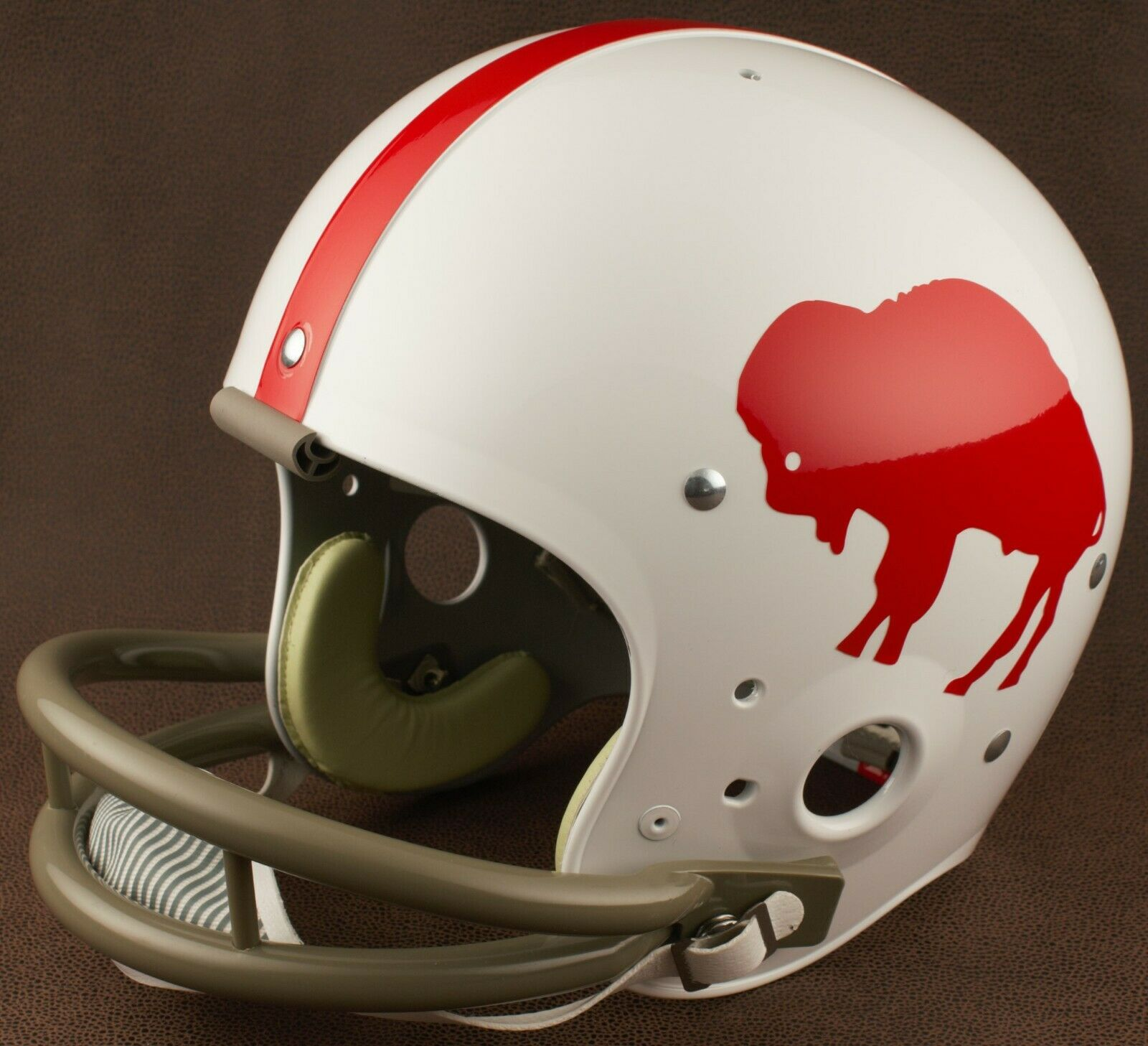 7a648221 Buffalo Bills 1962-1964 Riddell Authentic Throwback Football Helmet NFL
