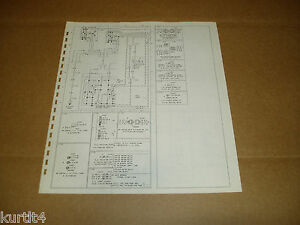 details about 1978 ford bronco wiring diagram schematic sheet service manual 1989 ford bronco wiring harness 1978 ford bronco wiring diagram #9