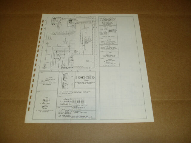 1977 Ford F600 F700 F800 Truck Wiring Diagram Schematic