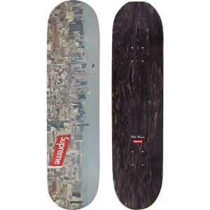 Supreme New York Aerial Skateboard Deck
