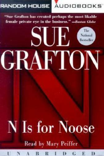 N Is for Noose Sue Grafton Audio Cassette Used - Very Good