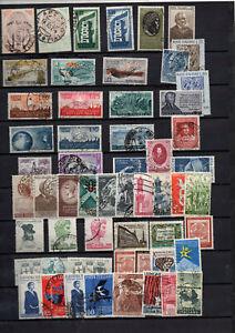 55-Timbres-Italie-entre-1954-et-1958
