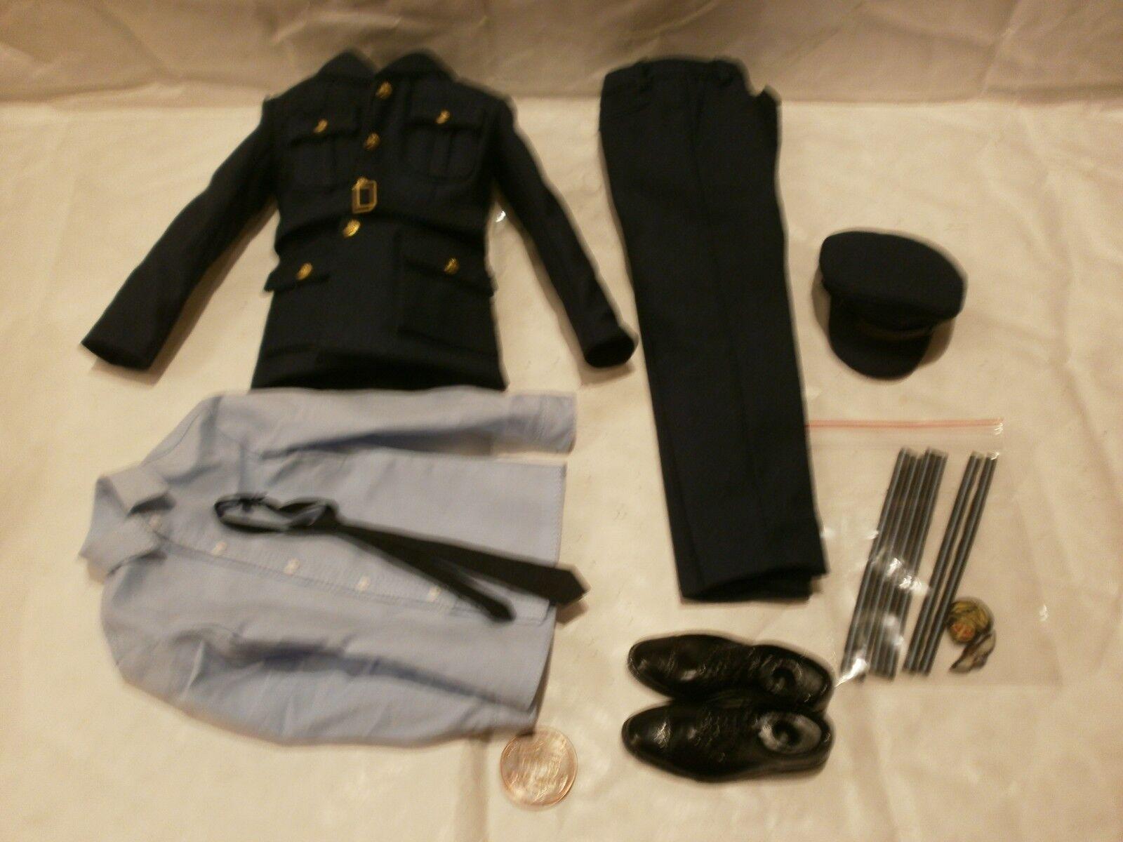 Alert Line RAF pilot uniform 1 6th scale toy accessory