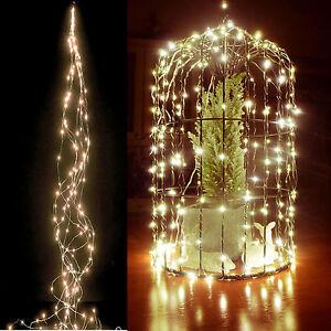 led lichterkette draht warmweiss biegsam leuchtdraht micro innen au en deko ebay. Black Bedroom Furniture Sets. Home Design Ideas