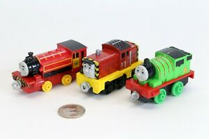 Thomas-amp-Friends-Adventures-Train-Engine-PERCY-TALKING-SALTY-VICTOR-Diecast