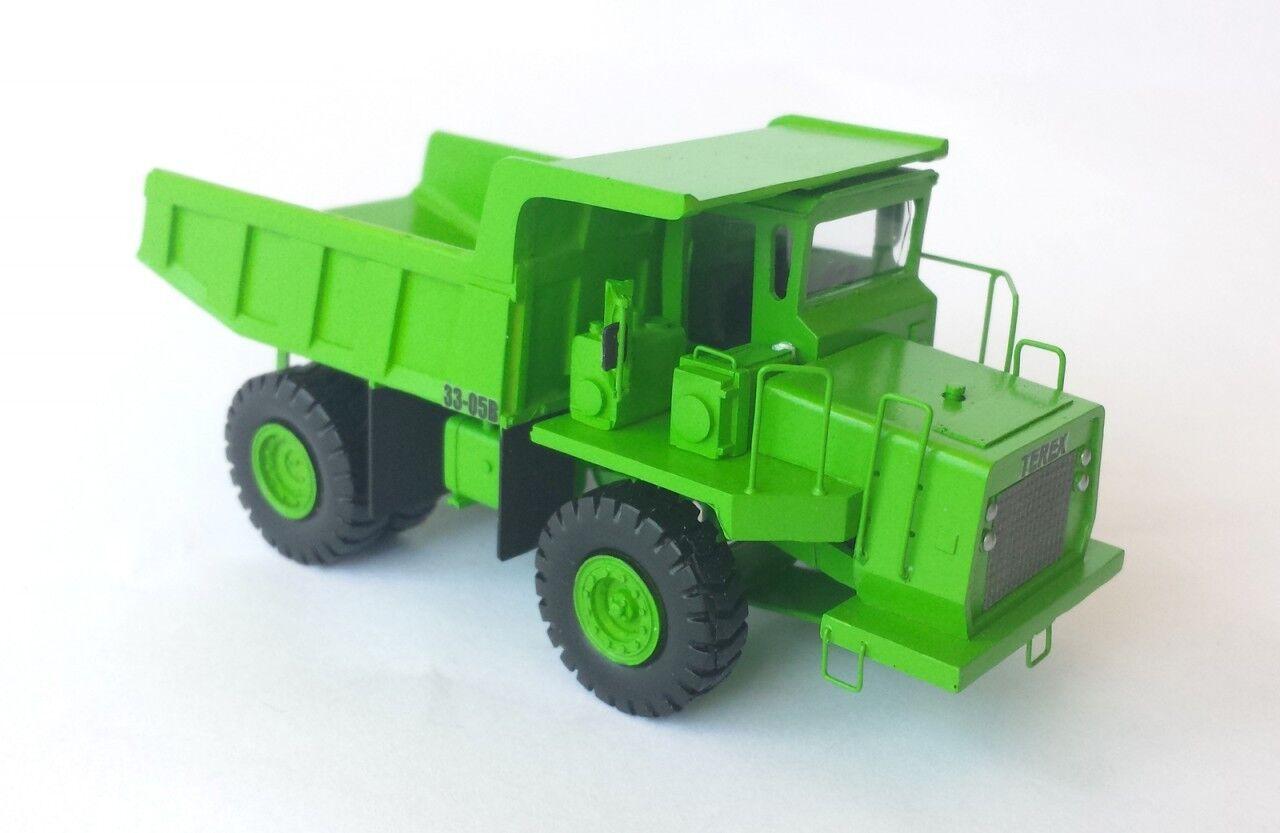 HO 1 87 Terex 30 T Camion Benne-prêts Résine Modèle par FanKit Models
